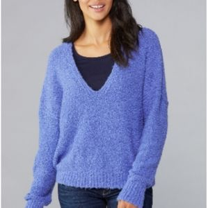 Free people finders keepers v-neck sweater small